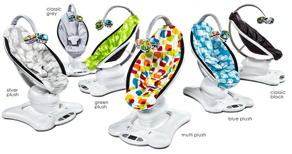 4moms MamaRoo Baby Swing Color Options