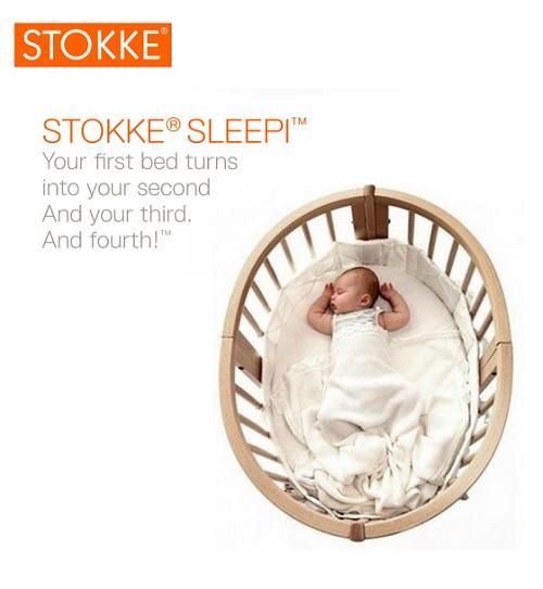Stokke Sleepi Convertible Crib to grow with baby
