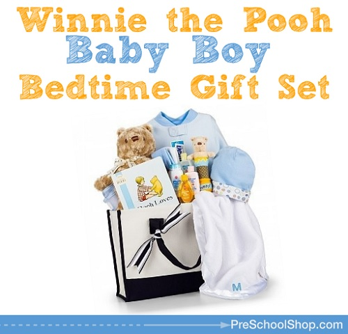 Baby Gifts For Parents Who Have Everything : Winnie the pooh gift set for newborn baby boy