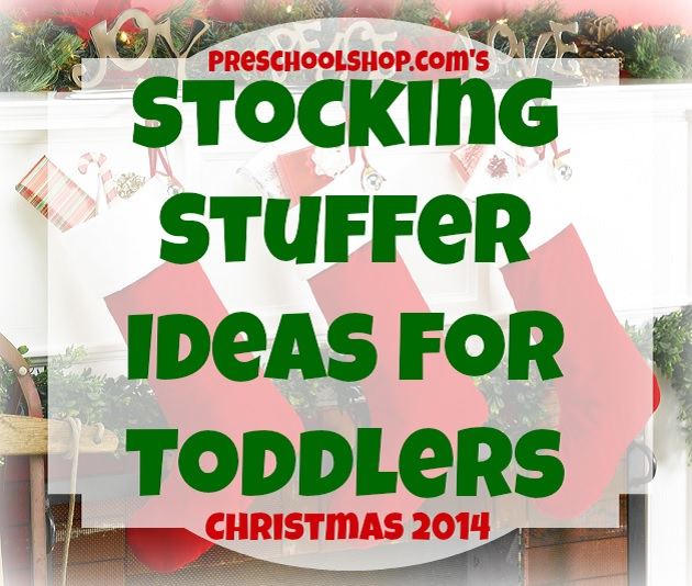 Stocking Stuffer Gift Ideas for Toddler via PreSchoolShop
