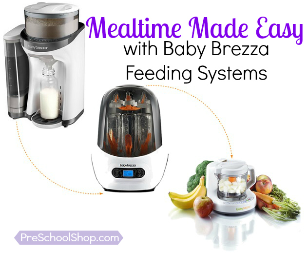 Mealtime Made Easy with Baby Brezza Systems
