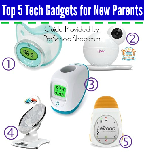 Top 5 Tech Gadgets for New Parents